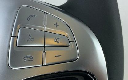 Lenkrad Leder Holz Mercedes S Klasse W222 CL C217 Cabrio A217 auch AMG Bild5