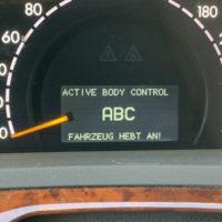 ABC Tacho Anzeige hebt an