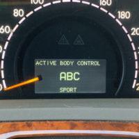 ABC Tacho Anzeige Sport
